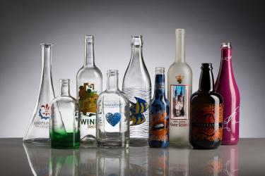 Flaschenveredlung
