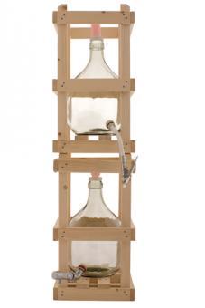 Holzgestell für   5000ml Glasballon Stück