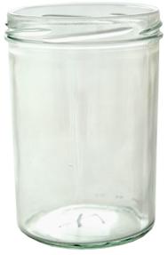 Sturzglas 430ml weiß TO82 Stück