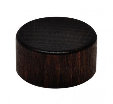 GCMI400/28 - Schraubverschluss Holz dunkelbraun Stück