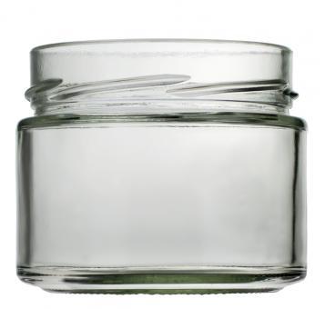Weithalsglas Vaso Plus 314ml weiß TO82Deep Stück