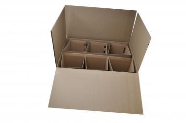 Versandverpackung - 6er Verpackung 1 Pack á 10 Stück Stück