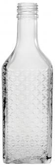 Kirschwasser Rautenrelief 700ml weiß PP28 Stück