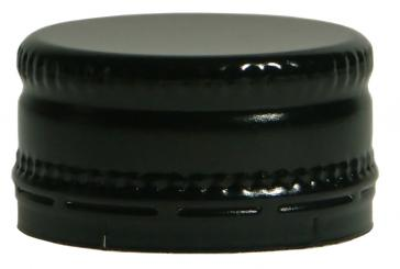 Schraubverschluss kurz MCA 28 x 15 schwarz Neutral ohne Druck !!!