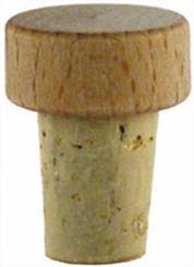 Scheibe natur/roh 15mm HGK 22/10 - 16/13mm