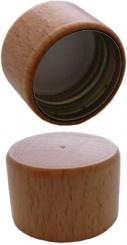 PP31,5 Schraubverschluss mit Holzband Stück