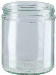 Honigglas 405ml weiss TO82