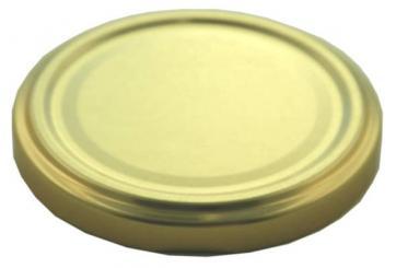 Deckel TO43 gold Nicht für ölhaltige Inhalte geeignet! Beutel à 100 Stück