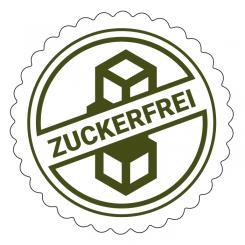 Schmucketikett Zuckerfrei 1 Rolle á 250 Stück