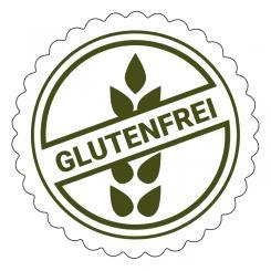Schmucketikett Glutenfrei 1 Rolle á 250 Stück