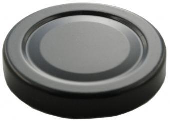Deckel TO43 deep schwarz Beutel à 100 Stück