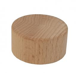 GCMI400/28 - Schraubverschluss Holz natur Beutel à 100 Stück