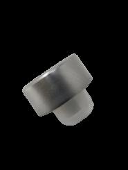 GCMI400/28 Schraubverschluss silber mit Ausgießer