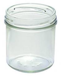 Sturzglas 167ml weiß TO66 Stück