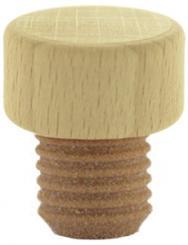 Scheibe natur/roh PE18,5mm HGK Beutel à 20 Stück
