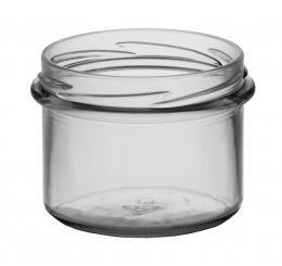 Sturzglas 235ml weiß TO82