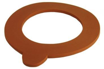Gummiring rot für Verschluss G2 Durchmesser: Innen 52mm - Außen 80mm
