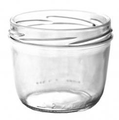 Sturzglas 105ml weiß TO63