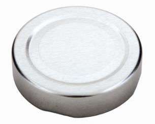 TO58 deep silber Beutel à 100 Stück