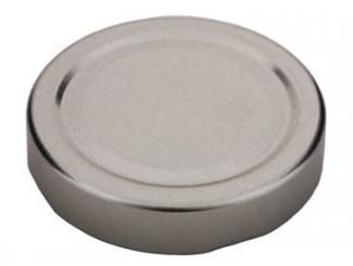 Deckel TO66 deep silber - Nicht für ölhaltige Inhalte geeignet! Beutel à 100 Stück