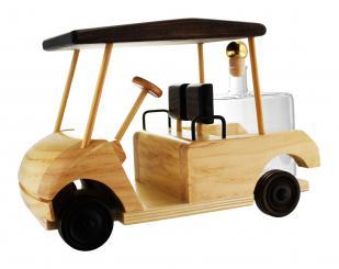 Golfwagen Holzmodell mit Glastank 350ml