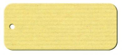 Anhängekarte Rechteck 70x 25mm - Naturpapier Karton Packung á 50 Stück