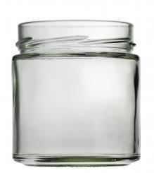 Weithalsglas Vaso Plus 410ml weiß TO82 Deep Stück