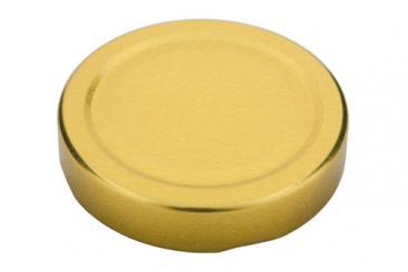 Deckel TO58 Deep gold Beutel à 100 Stück