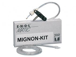 Zusatz-Kit Mignon für Abfüllgerät Enolmatic Innendurchmesser: ab 9mm Außendurchmesser: bis 25mm -Miniaturflaschen aller Art