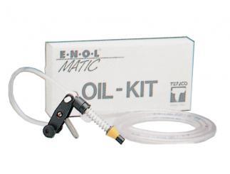 Zusatz-Kit Oil für Abfüllgerät Enolmatic Innendurchmesser: 17-27mm mit Silikonschlauch (Weichmacherfrei)