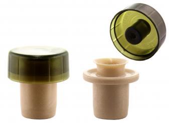 Ausgießer T-Mix grün 18mm