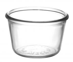 Sturzglas 1/4 l weiß RR100 (Weck) Karton à 60 Stück