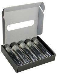 Provetta 50ml - Pack á 25 Stück - 5er-Geschenkkarton schwarz