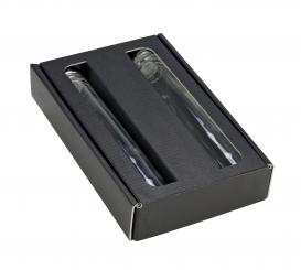 Provetta 100ml - Pack á 25 Stück - 3er Geschenkkarton schwarz