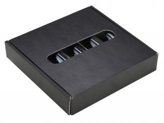 Provetta 100ml - Pack á 25 Stück - 5er Geschenkkarton schwarz