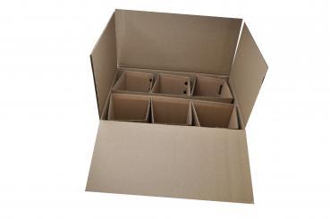 Versandverpackung - 6er Verpackung 1 Pack á 10 Stück