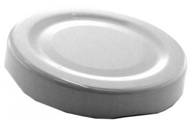 Deckel TO43 weiß - mit Button Für ölhaltige Inhalte geeignet - BPA-frei