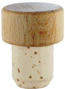 Scheibe natur/roh 19mm HGK Stück
