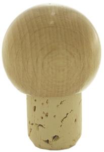 Kugel natur/lackiert 18mm HGK Stück