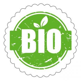 Schmucketikett Bio 1 Rolle á 250 Stück Stück