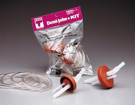 Demi-John-Kit mit 2 Gummikappen  Stück
