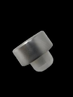 GCMI400/28 Schraubverschluss silber mit Ausgießer Stück