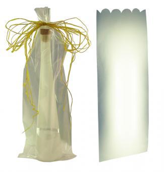 Geschenktüte 1er transparent Karton à 50 Stück