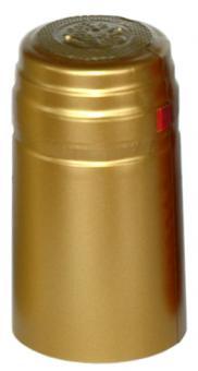 Schrumpfkapsel 31x60 mit Abriss - Farbe: gold Stück