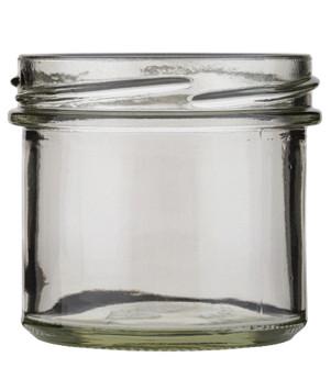 Sturzglas 125ml weiß TO66 Stück