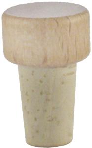 Scheibe natur/roh 12mm HGK Beutel à 20 Stück