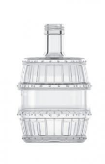 Barrel 200ml weiß  PP28 Stück