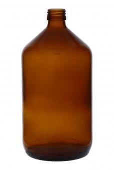 Euro-Medizinflasche 1000ml braun PP28 Stück