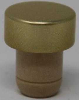 Ausgießer Charme gold  PE beige19mm Stück