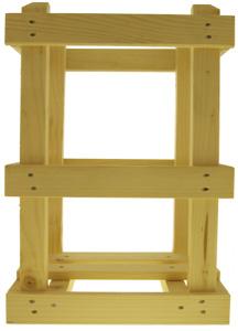 Holzgestell für 10000/15000ml Glasballon Stück
